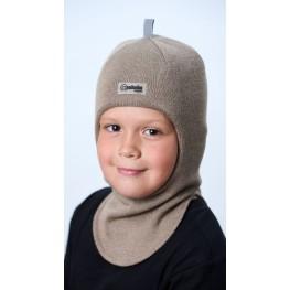 ШЛ-22011 Шапка-шлем, капучино