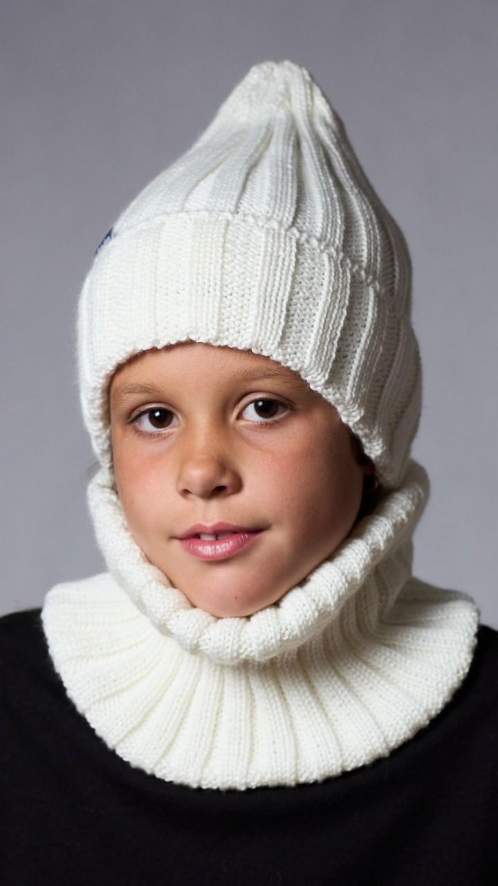 Ш-2201 Комплект (шапка,снуд), снежок