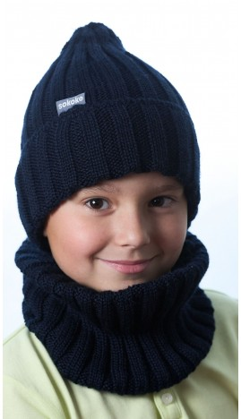 Ш-2201 Комплект (шапка,снуд), чернила