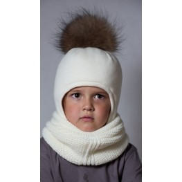 ШЗ-22030 Шапка детская, снежок