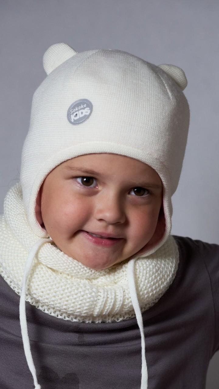 ШЗ-22052 Шапка детская, снежок