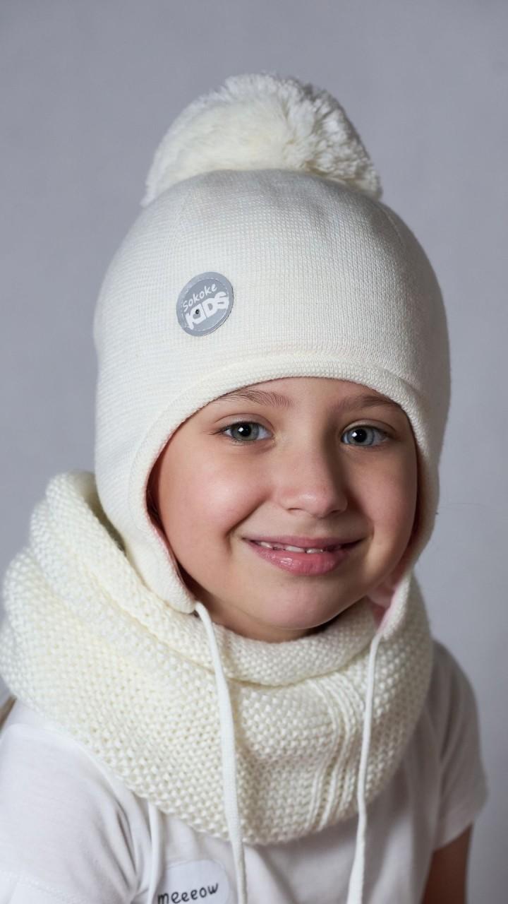 ШЗ-22012 Шапка детская, снежок