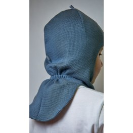 ДМШЛ-2101 Шапка-шлем, серый муссон