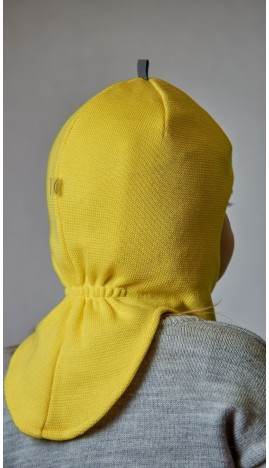 ДМШЛ-2102 Шапка-шлем, лимон