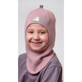 ДМШЛ-2102 Шапка-шлем, пыльная роза