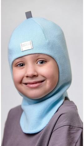 ДМШЛ-2102 Шапка-шлем, голубая мята