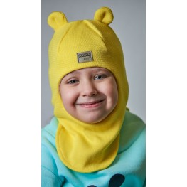 ДМШЛ-2104 Шапка-шлем, лимон