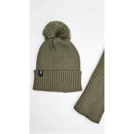 ДМШ-05 Комплект (шапка, снуд), хаки