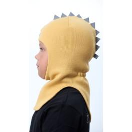 ШЛ-22031 Шапка-шлем, горчичный мед
