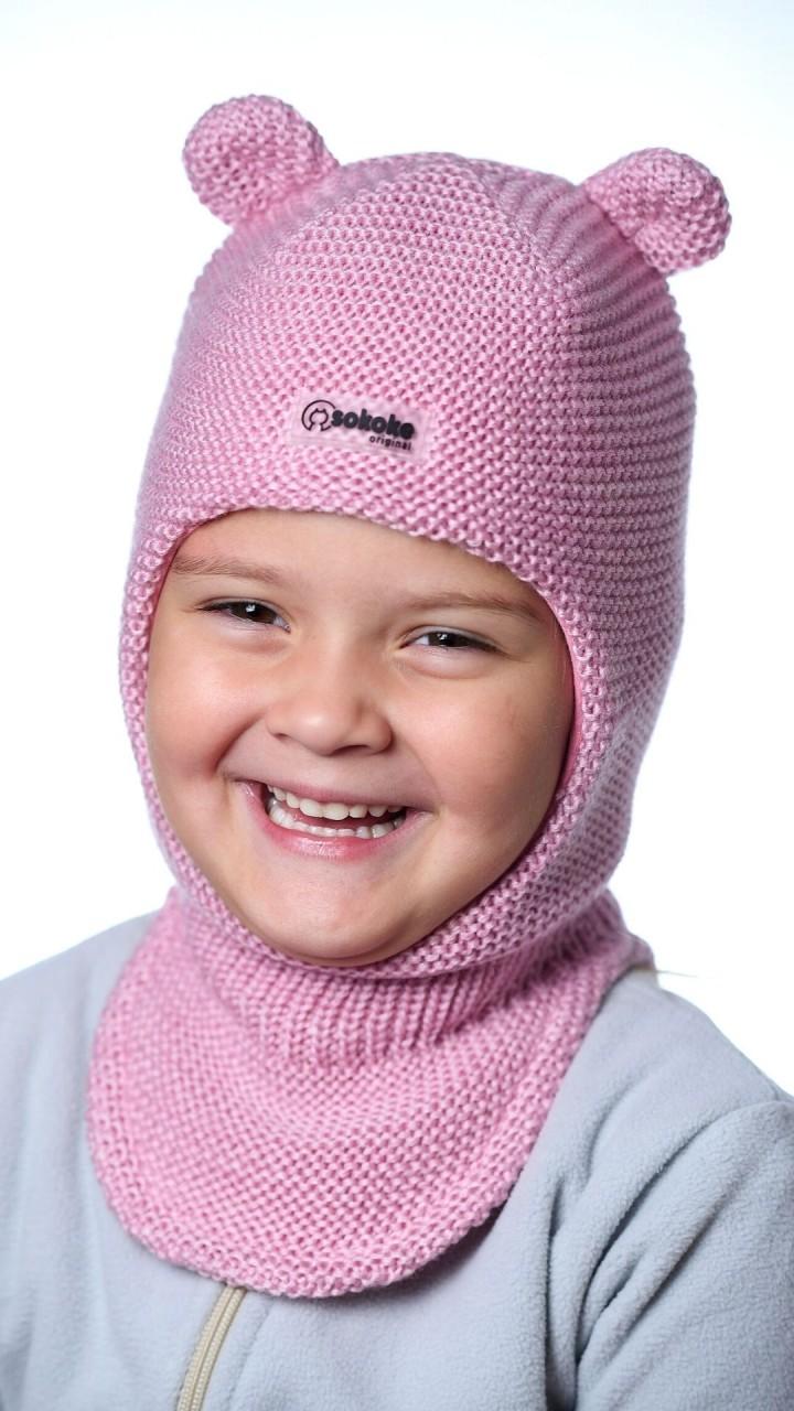 ШЛ-22071 Шапка-шлем, пудра