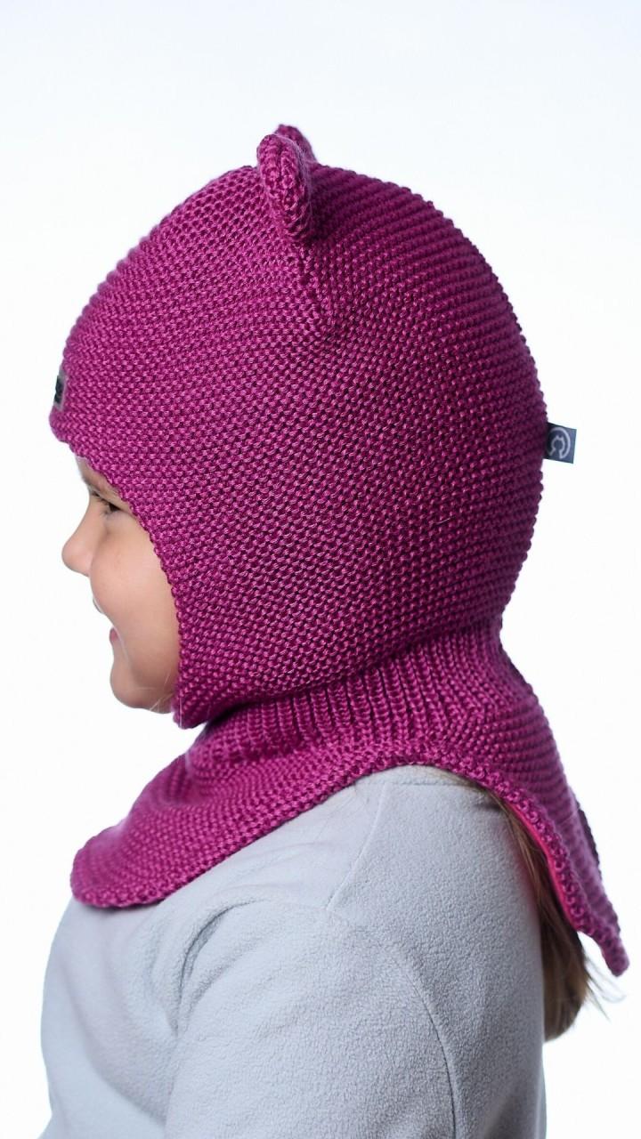 ШЛ-22071 Шапка-шлем, фуксия