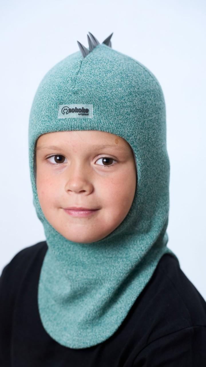 ШЛ-22031 Шапка-шлем, миндаль