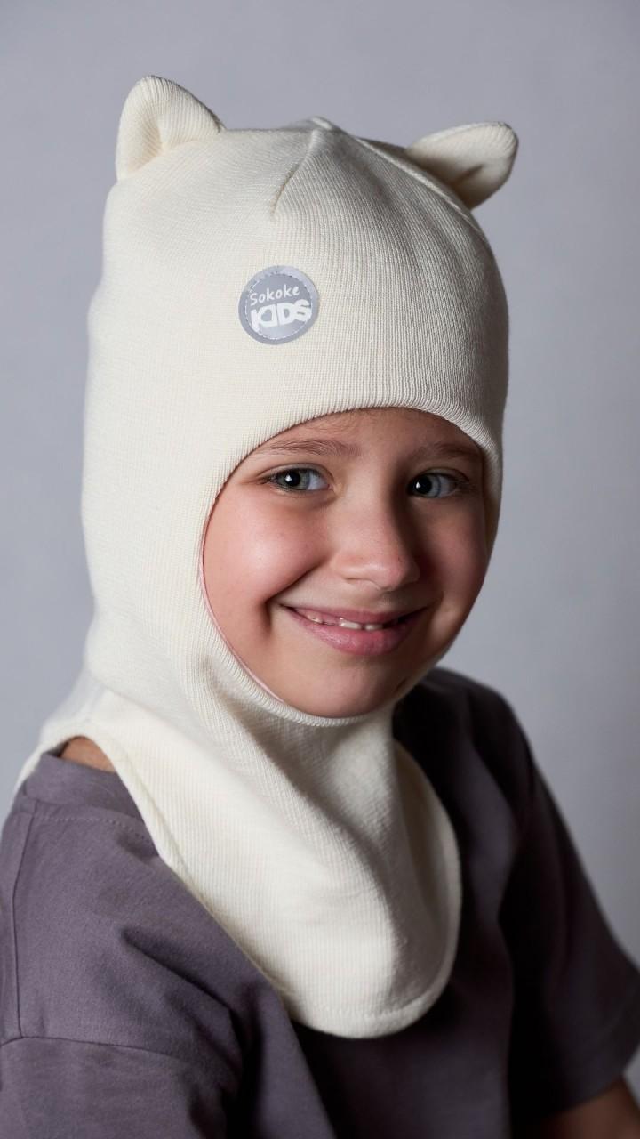 ШЛ-22042 Шапка-шлем, пломбир