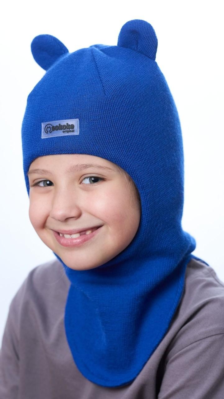 ШЛ-22051 Шапка-шлем, василек
