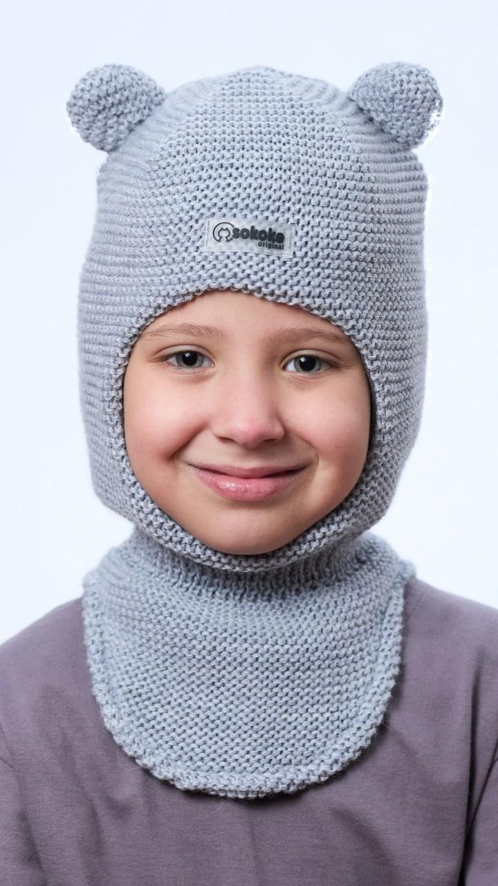ШЛ-22071 Шапка-шлем, ангора