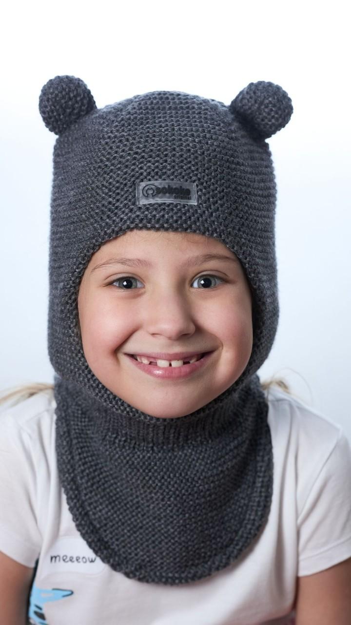 ШЛ-22071 Шапка-шлем, графит