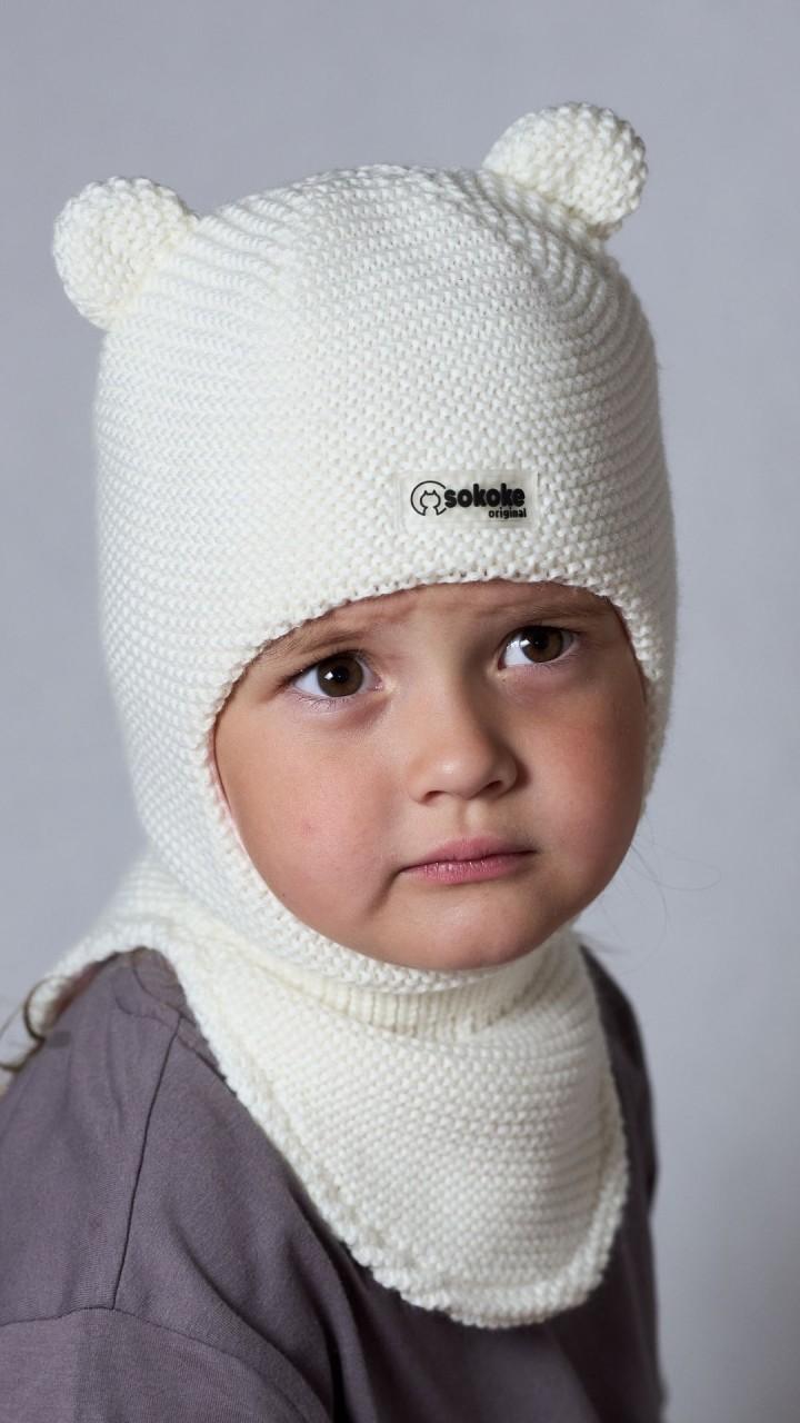 ШЛ-22071 Шапка-шлем, снежок